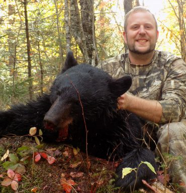 Maine bear hunting at Foggy Mountain