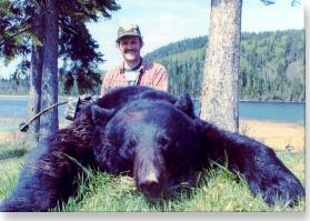 black bear Pope and Young trophy