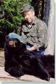 Maine Highlands black bear