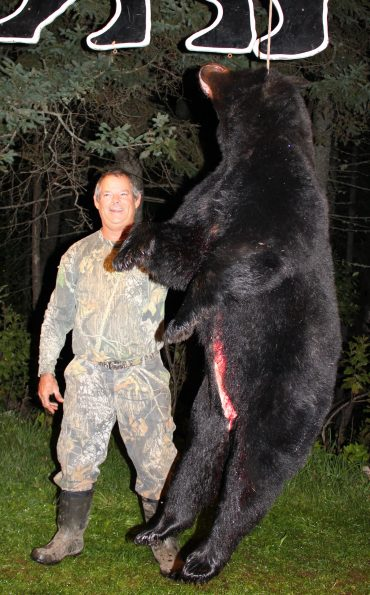 Large bear hunted at Foggy Mountain