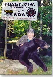 Maine Highlands black bear