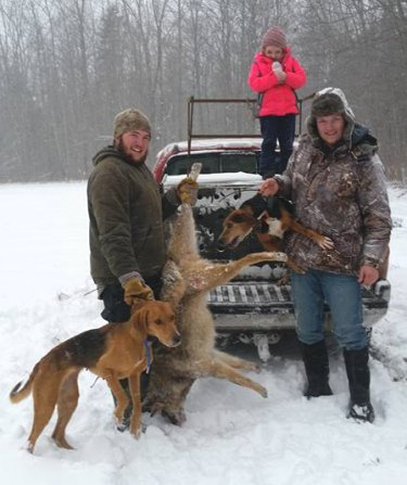 Maine coyote hunting
