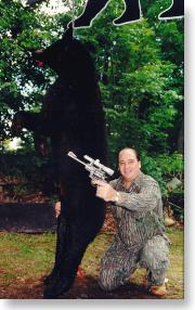 Ruger 44 Magnum shot awesome Maine bear