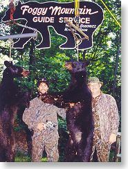 Bear hunters Doug Koenig and Dick Metcalf
