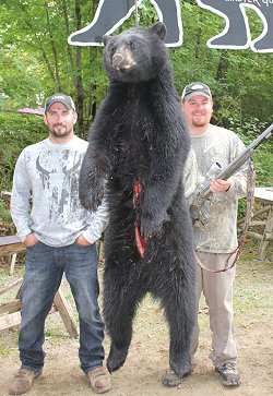 trophy bear hunts at Foggy Mountain Guide Service