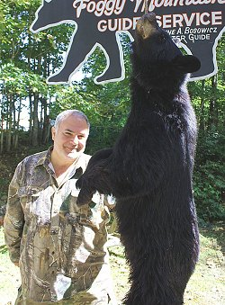 trophy black bear hunts at Foggy Mountain