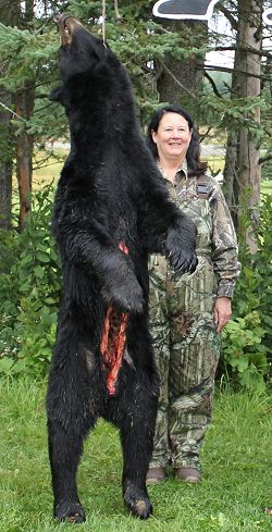 trophy bear hunting at Foggy Mountain