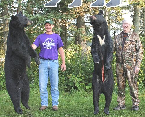 trophy bear hunting at Foggy Mountain Guide Service