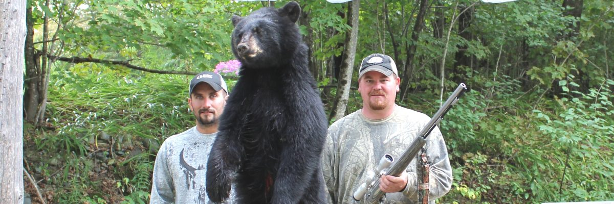 Bear taken with Muzzleloader
