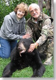 Maine bear hunting at Foggy Mountain Guide Service