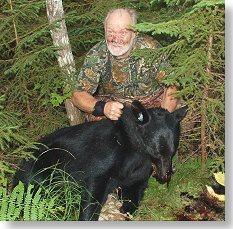 black bear hunt at Foggy Mountain