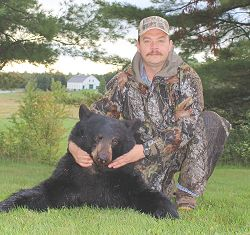trophy bear hunt at Foggy Mountain Guide Service