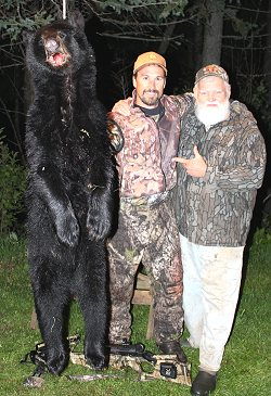crossbow black bear hunt at Foggy Mountain