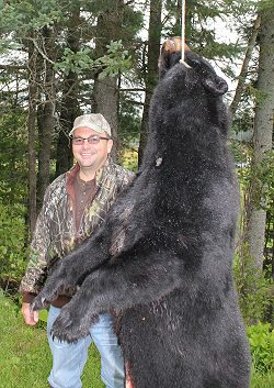 black bear hunt at Foggy Mountain