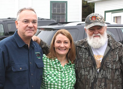 family black bear hunters at Foggy Mountain